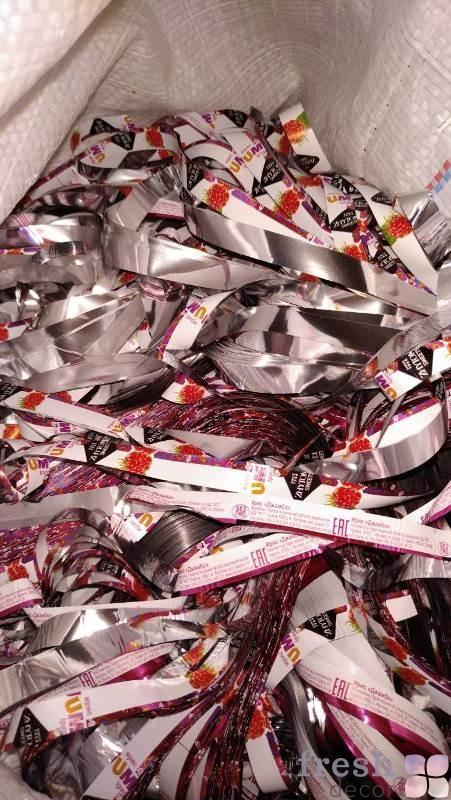 красно белая конфетка для бумажного
