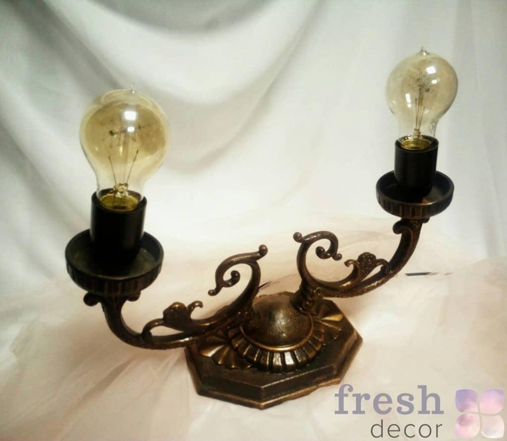 Латунный светильник