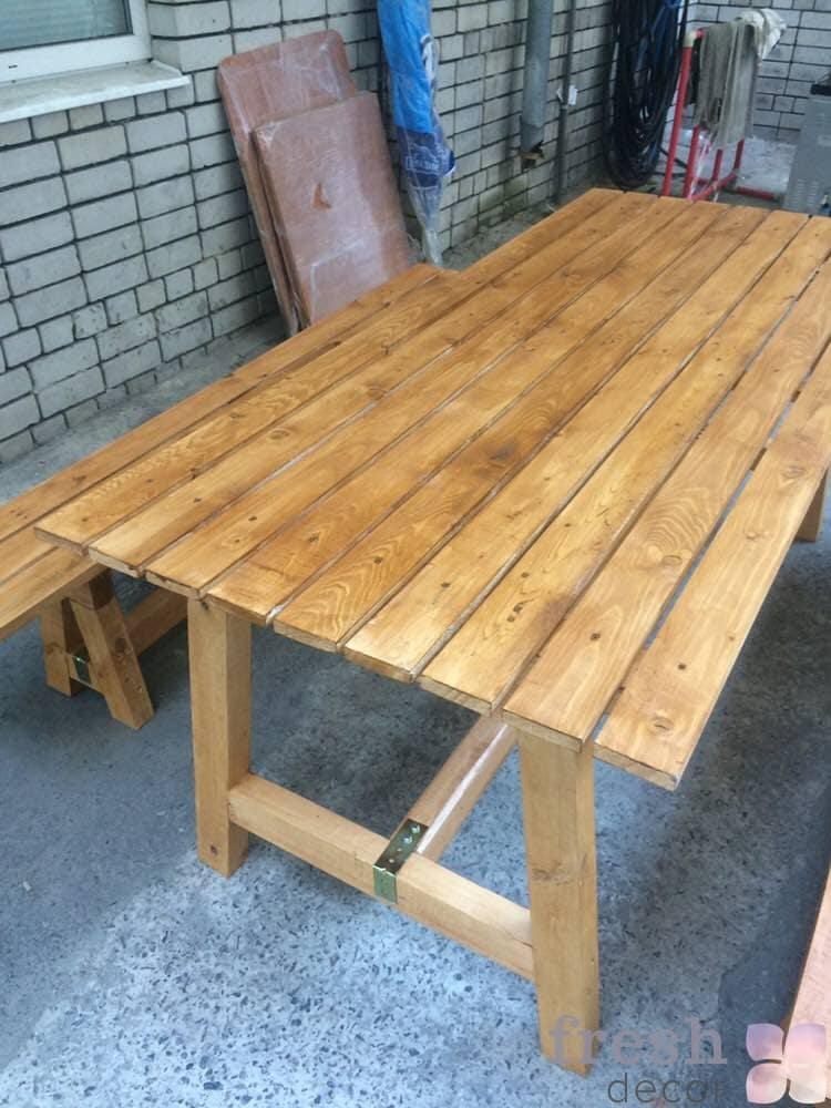 аренда столов Харьков из дерева, стол из дерева в прокат
