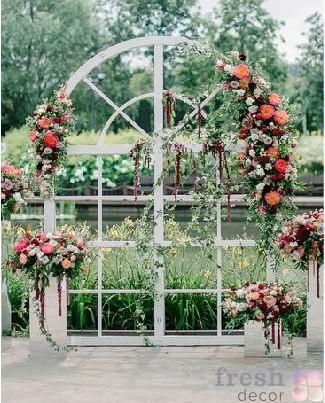 арка окно