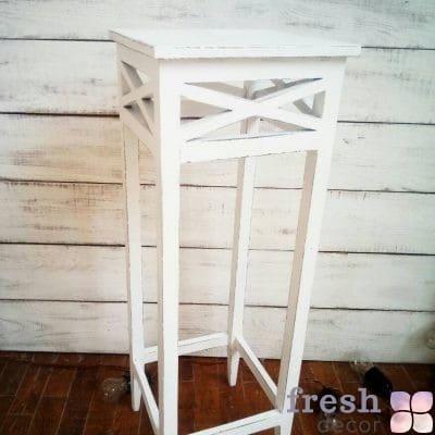 белая тумба столик для кенди бара аренда