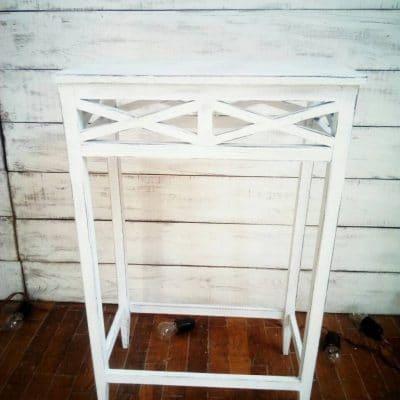 столик для кенди бара прованс белый аренда