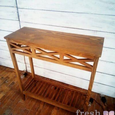 столик тумба коричневая в прокат