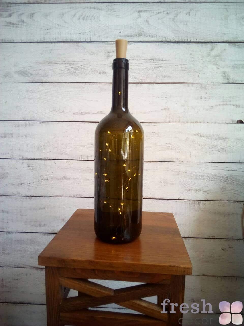 гирлянда светодиодная в бутылке