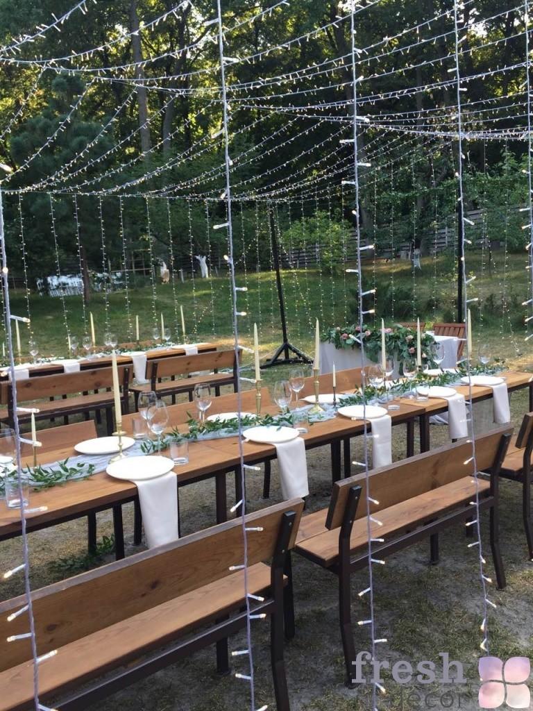 Svetovoe oformlenie restoran penaty Kharkov
