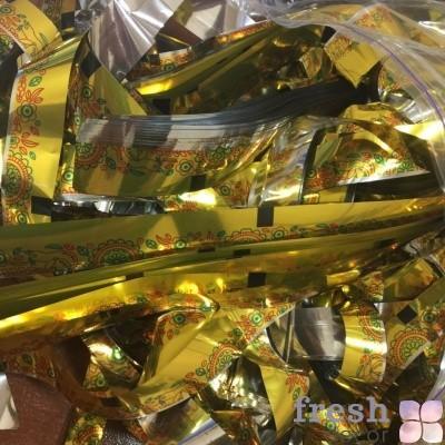 золотая бумага вышиванка