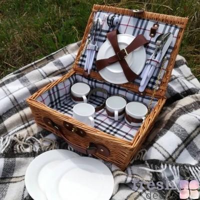 набор для пикника с пледом