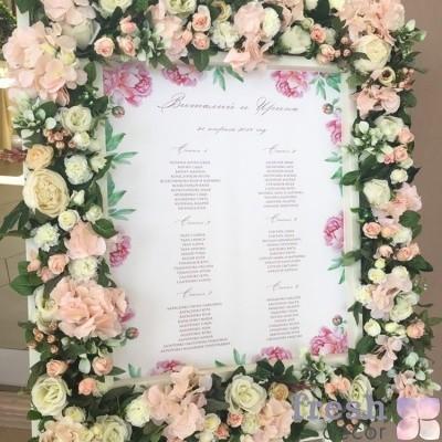 цветочный план рассадки