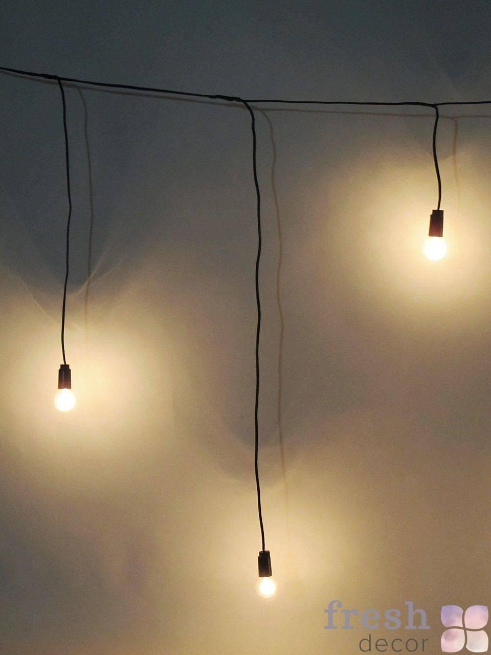 retro lampy girlyandy dlya dekora sten i poverxnostej