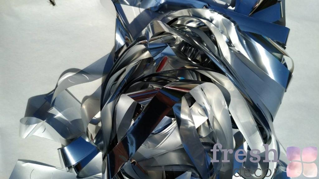 серебряная бумага для бумажного шоу оптом