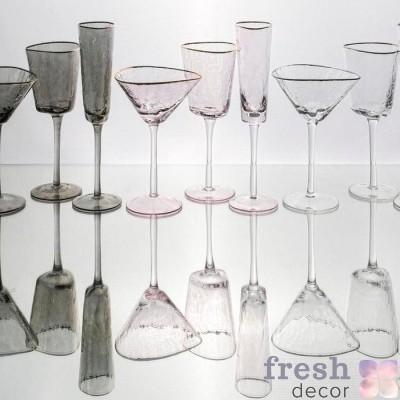 Бокалы из стекла