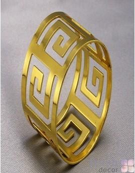 золотое кольцо с для салфеток в античном стиле 1