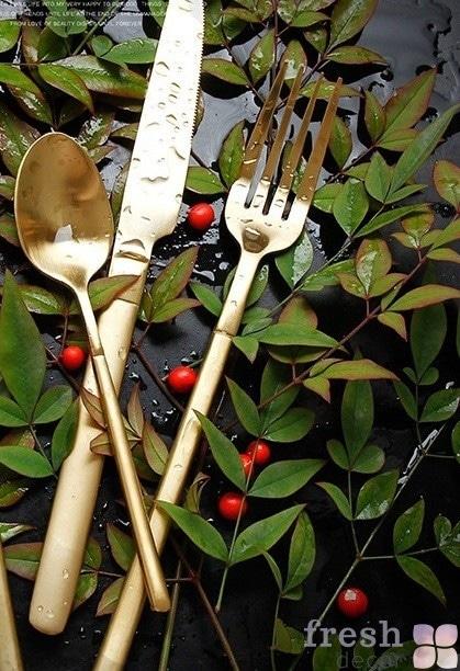 вилка и ложка в прокат для декора свадьбы