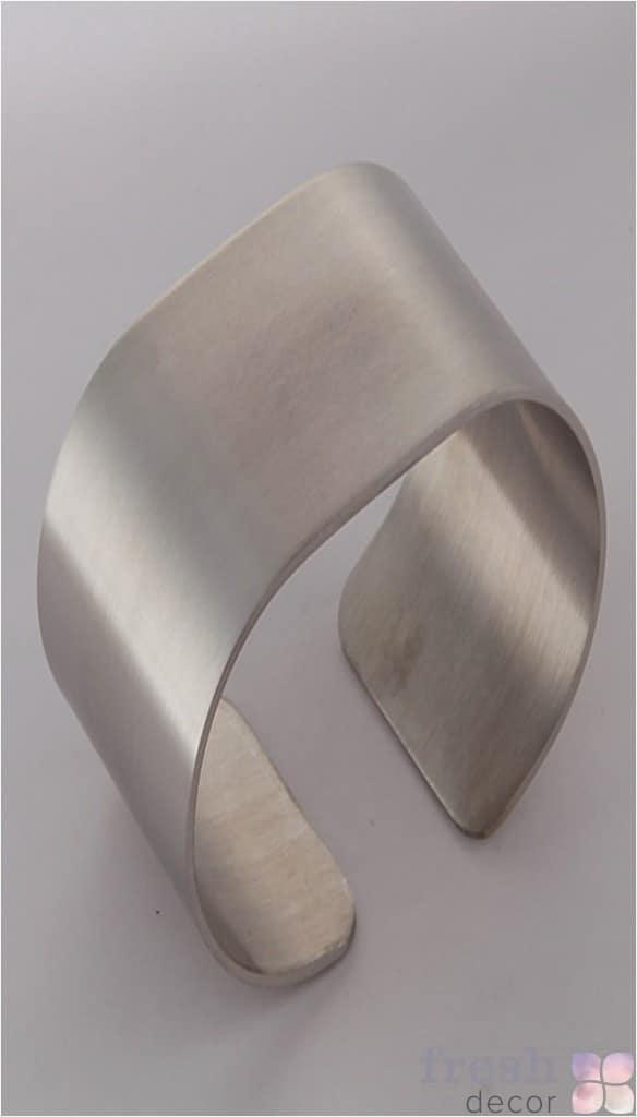 матовое нержавеющее кольцо для салфеток