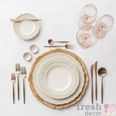 Тарелки, бокалы, посуда