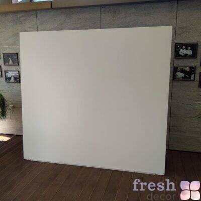 белый фон из пластика для фотозоны и для задника за молодоженами