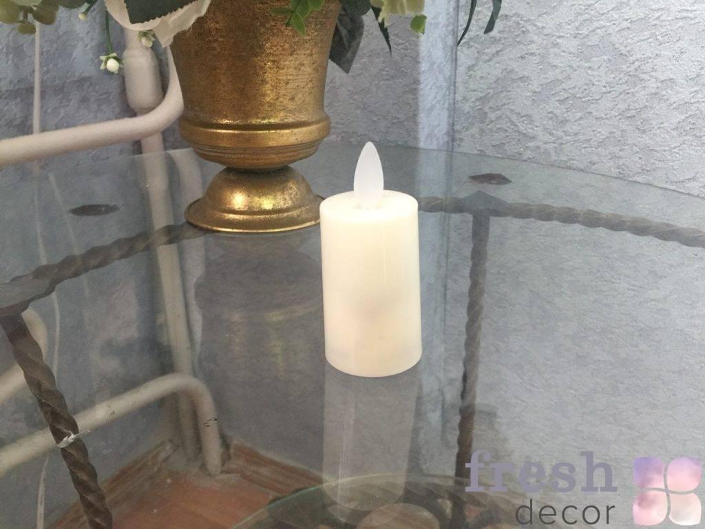 svecha s imitaciej ognya svetodiodnaya v prokat