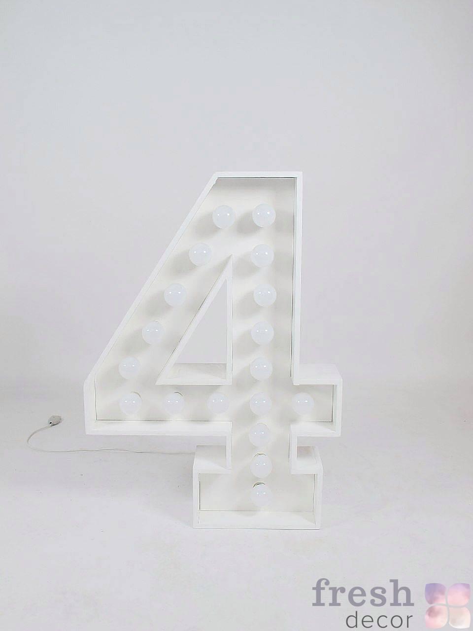 cifra 4 s lampochkami v arendu