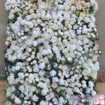 cvetochnaya panel dlya dekora zala iz iskustvennyx cvetov