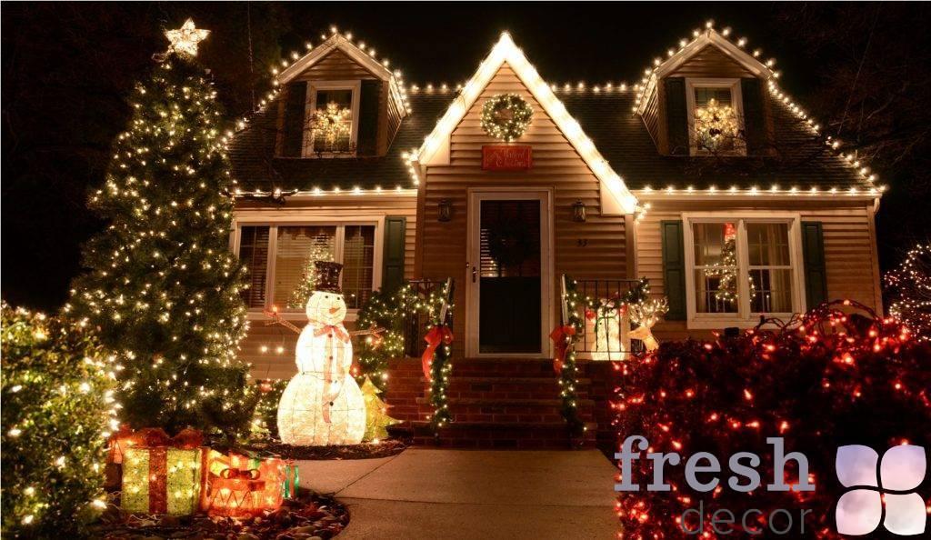 novogodnij dekor doma