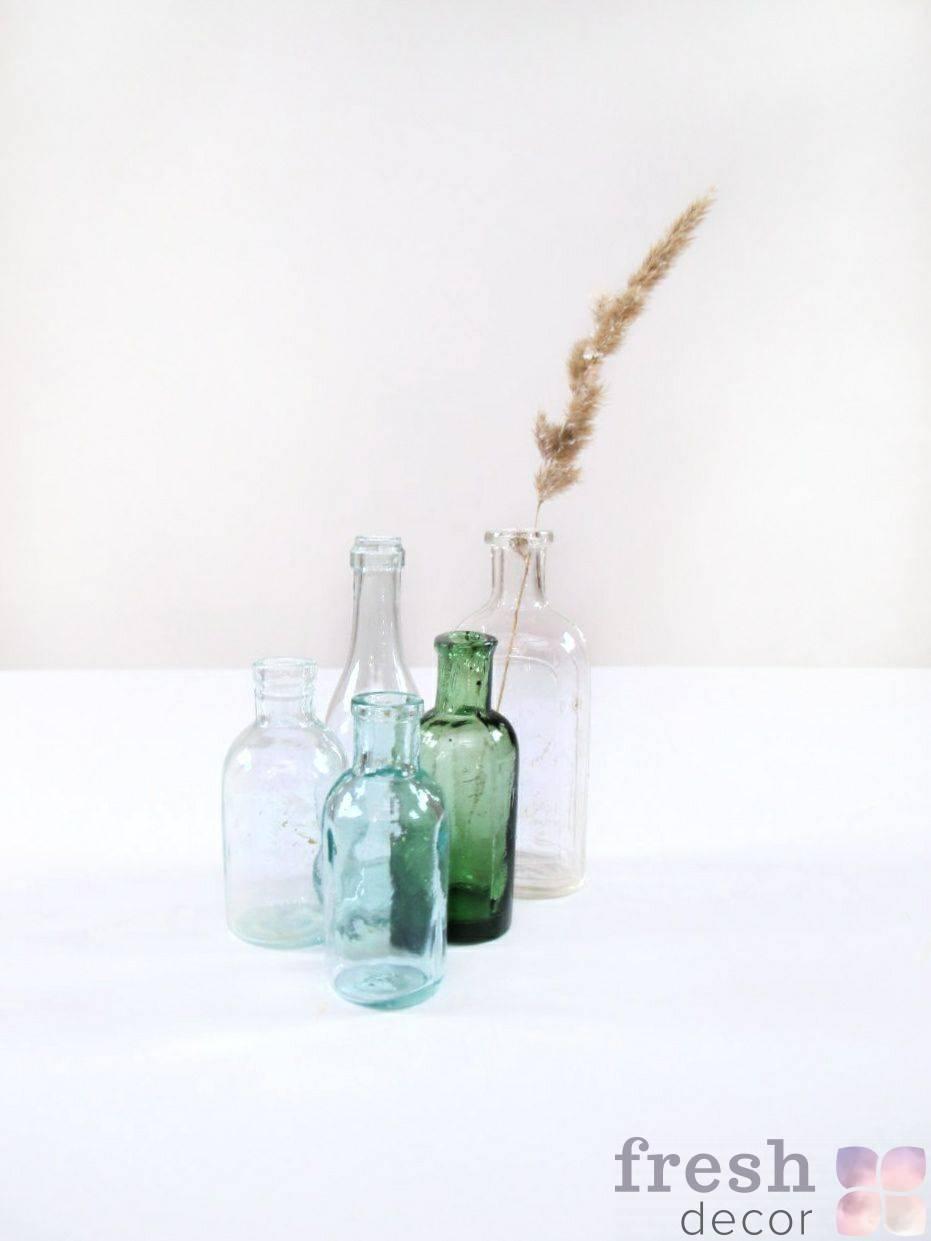 retro butylki iz stekla v prokat