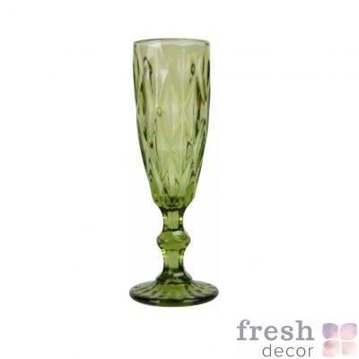 bokal dlya shampanskogo olivkovogo cveta