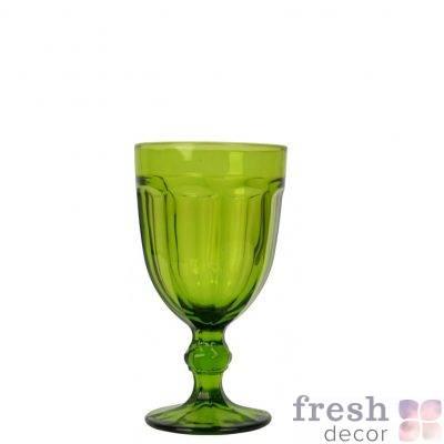 bokal dlya vina olivkovogo cveta