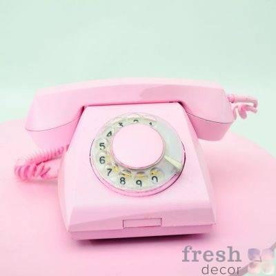 telefon diskovyj retro 70 godov