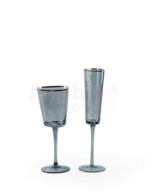 bokaly temnye dlja shampanskogo i vina s zolotoj kajmoj 2
