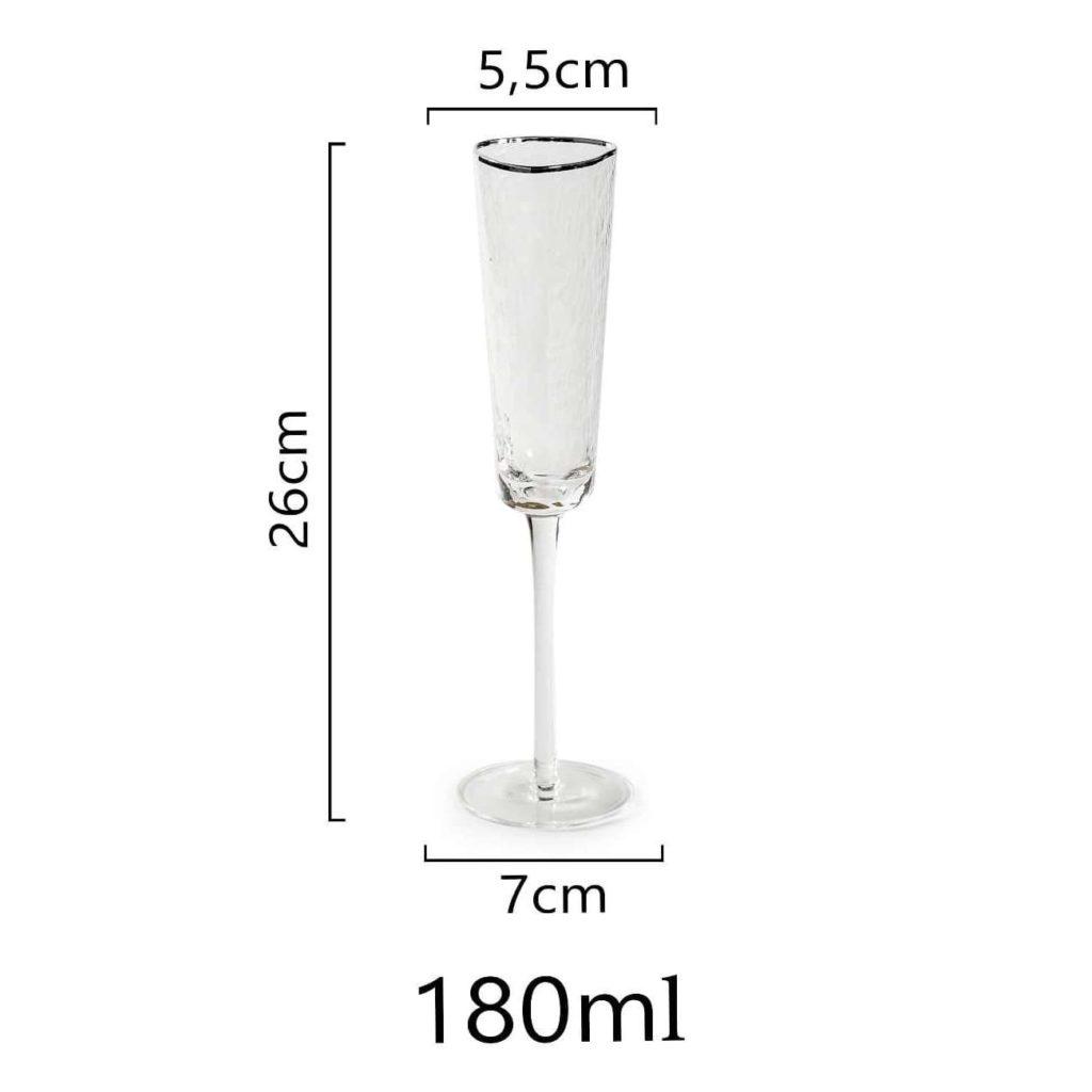razmer bokala dlja shampanskogo s serebrjanym kantom 1