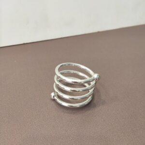kolco serebrjanoe spiralka