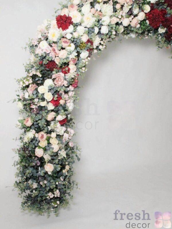 arka belo zelenaya na prokat dlya svadby 1