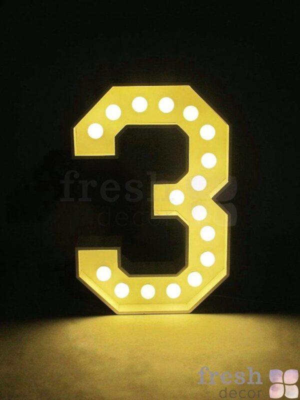 cifr 3 s lampochkami v arendu 1