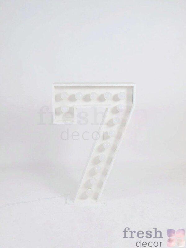cifra 7 s lampochkami svetyashhayasya 1