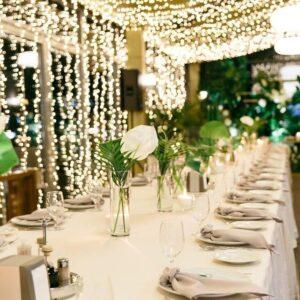 dekor restorana terassa xarkov pelas svetodiodnymi girlyandami 1
