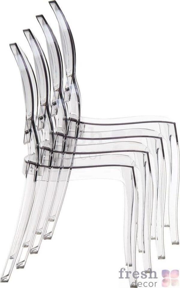 elizabeth stacking polycarbonate chairs dlya kuxni i bara 1 1