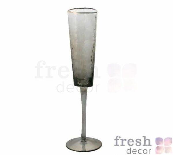 jevans dlja vina rozovye s moroznogo stekla s zolotym obodkom 3 1