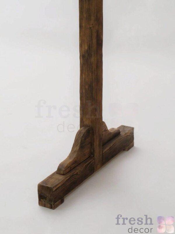 noga arki p obraznoj iz dereva 1
