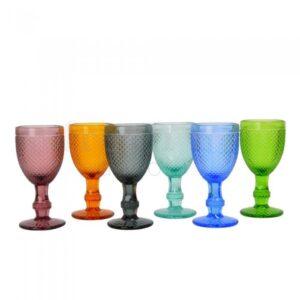 raznocvetnye ryumki iz stekla 1