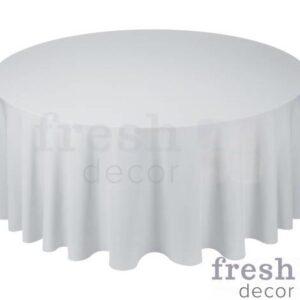 seraya skatert na kruglyj stol diametrom 150 i 180 sm v prokat 1