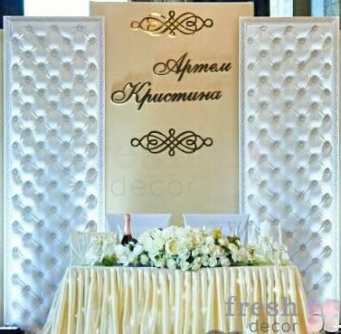 stenovaya panel myagkaya belaya so styazhkoj v prokat 1
