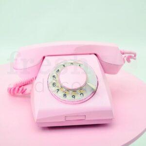 telefon diskovyj retro 70 godov 1