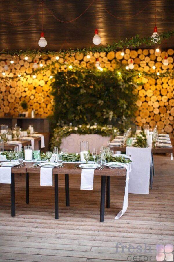 vechernee oformlenie svadbysvetom i girlyandami v restorane verxoly 1